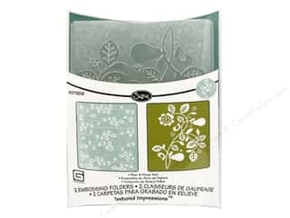 Sizzix Emboss Folder BG TI Pear & Vines