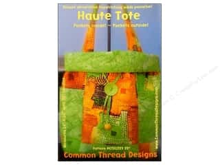 Lila Tueller Designs Tote Bags / Purses Patterns: Common Thread Designs Haute Tote Pattern