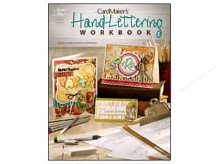 paper craft books: Hand Lettering Book