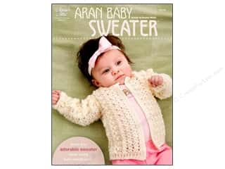 Pattern $0-$2 Clearance: Aran Baby Sweater Pattern