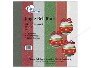 "Paper Accents Cardstock Variety Pack 12""x 12"" Jingle Bell Rock 6pc"