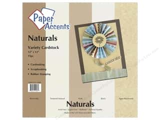 Paper Accents Cardstock VP 12x12 Naturals 15pc