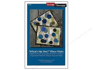 Scrap Therapy What&#39;s Up Dot Mats Pattern