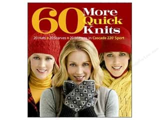 knitting books: 60 More Quick Knits Book