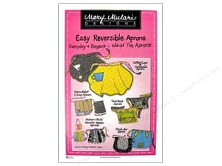 Clearance Tombow Dual Brush Pen Set: Easy Reversible Waist Tie Apron Pattern