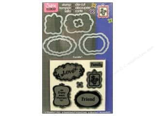 Sizzix Die Framelits Set HeroArts Stamp Message