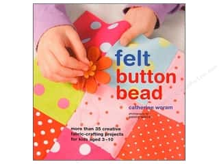 Clearance Blumenthal Favorite Findings: Felt Button Bead Book
