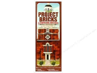 Projects & Kits Clearance Crafts: FloraCraft Styrofoam Kit Project Bricks Landmark Edition