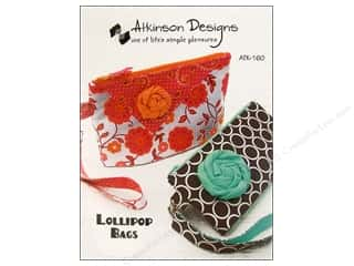 Tote Bag Flowers: Atkinson Designs Lollipop Bag Pattern