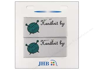JHB Sweetheart Labels Handknit By 2pc