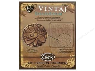 Sizzix Die Vintaj DecoEtch Botanical Flourish