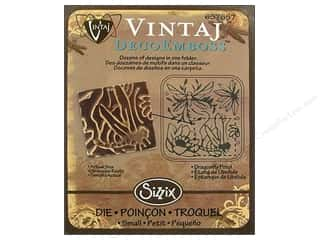 Sizzix Emboss Folder Vintaj DecoEmboss Drgnfly Pnd