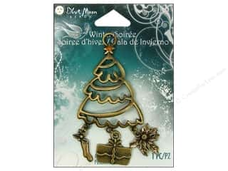 Valentine's Day Gifts: Blue Moon Pendant WS Metal Tree n Gift Ox Brass
