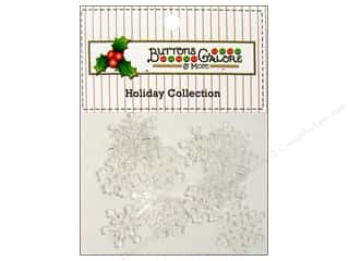 Buttons Galore & More: Buttons Galore Theme Buttons Snow Crystals