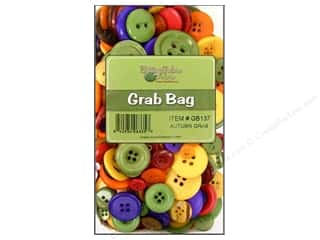 Fall / Thanksgiving Buttons: Buttons Galore Grab Bag 6 oz. Autumn