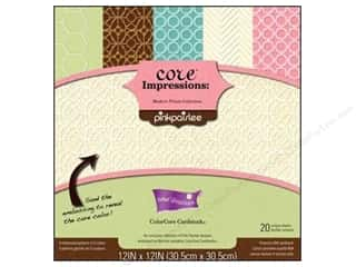 Coredinations Cardstock Pack 12x12 Mod Prints 20pc