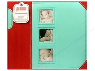 We R Memory Album 12x12 Ring Designer Little Boy Blue