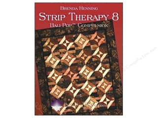 Annies Attic Fat Quarter / Jelly Roll / Charm / Cake Books: Bear Paw Productions Strip Therapy 8 Bali Pop Compulsion Book by Brenda Henning