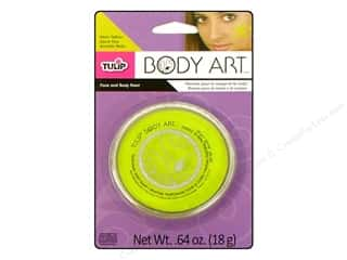 Tulip paint: Tulip Body Art Face & Body Paint Neon Yellow 0.64oz