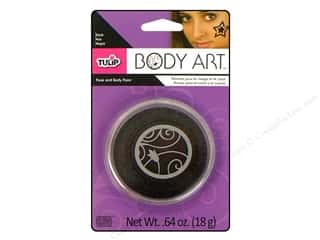 Tulip Body Art Face & Body Paint Black 0.64oz