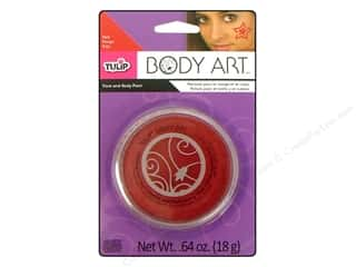 Tulip Drawing: Tulip Body Art Face & Body Paint Red 0.64oz