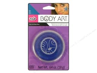 Tulip Body Art Face & Body Paint Blue 0.64oz