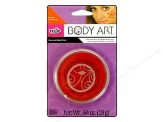 Tulip Body Art Face & Body Paint Orange 0.64oz