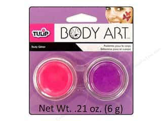 Tulip Body Art Glitter Fuchsia & Purple