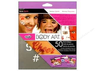 Sports Craft & Hobbies: Tulip Body Art Stencil Designs Sport