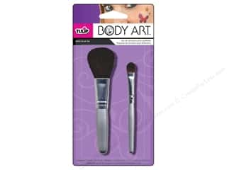 Machine Lint Brushes $8 - $273: Tulip Body Art Brush Set Glitter 2pc
