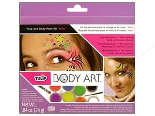 Tulip Body Art Kit Face & Body Paint Neon