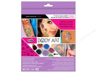 Clearance Art Institute Glitter .5 oz Ultrafine $5 - $10: Tulip Body Art Glitter Tattoo Kit Classic