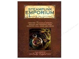Books & Patterns Beading & Jewelry Making Supplies: North Light Steampunk Emporium Book