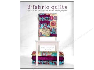 Krause Publications Quilting: Krause Publications 3 Fabric Quilts Book