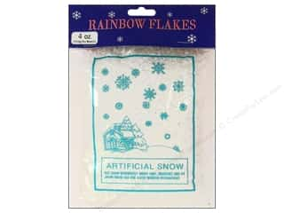 Darice Holiday Decor Artificial Snow 4oz Iridscnt
