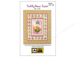 Teddy Bears $18 - $72: QuiltWoman.com Teddy Bear Twist Pattern