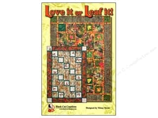 Patterns Clearance $0-$2: Love It Or Leaf It Pattern