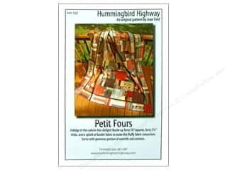 Bosal Fat Quarter / Jelly Roll / Charm / Cake Patterns: Hummingbird Petit Fours Pattern