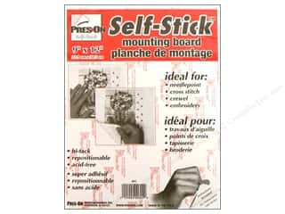 "Pres-on Self-Stick Hi-Tack Mount Board 9""x 12"""