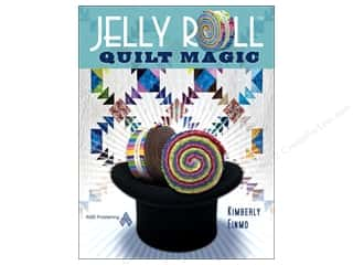 Books Clearance $5 - $10: American Quilter's Society Jelly Roll Magic Book by Kimberly Einmo