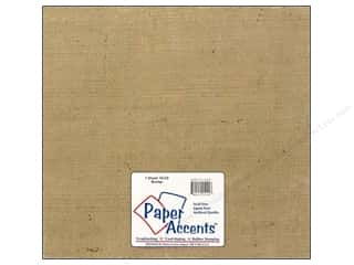 "Paper Accents Fabric Sheet 12""x 12"" Burlap"
