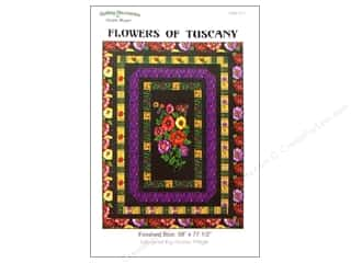 Accuquilt: QuiltWoman.com Flowers Of Tuscany Pattern