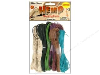 Macrame Black: Pepperell Hemp Earthtone 10pc