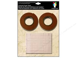 Imaginisce Adhesive Foam Tape Brown