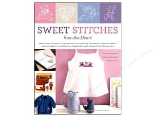 Bibs Hearts: Potter Publishers Sweet Stitches Book
