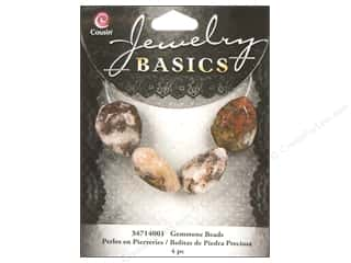 Cousin Basics Gemstone Beads Faceted Teardrops 4 pc.