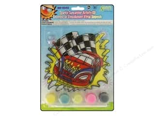 Kids Crafts Sports: Kelly's Suncatcher Kits Sparkle Racecar