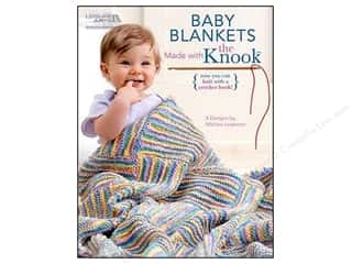 Leisure Arts Baby Blankets Made With The Knook Book