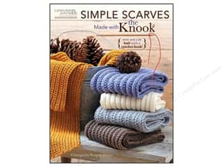 Simple Scarves Made With The Knook Book