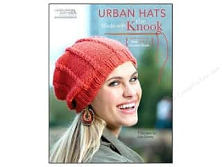 Leisure Arts Urban Hats Made With The Knook Book